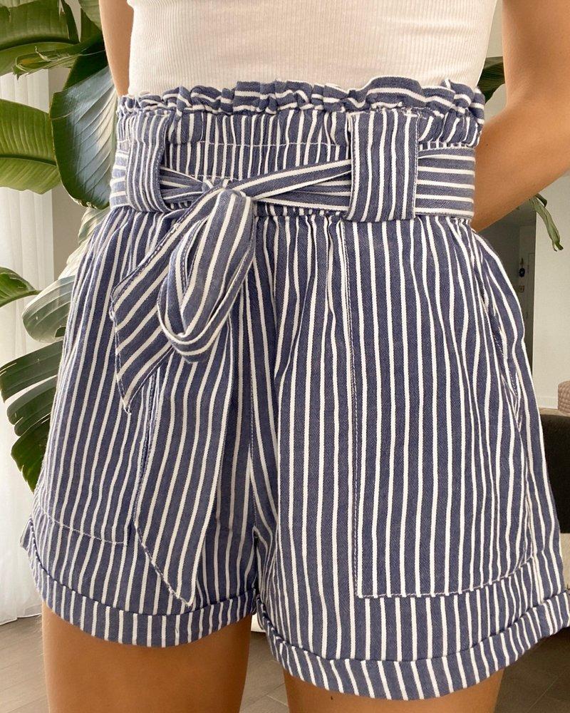 Nouveau Noir Manhattan Paperbag Shorts