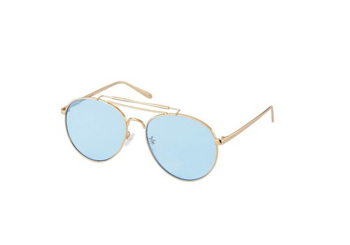 Perverse Sunglasses CRISP Sunglasses in Pastel Blue