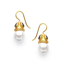 Julie Vos Baroque Earring Gold