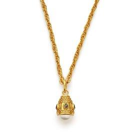 Julie Vos Baroque Small Pendant Gold