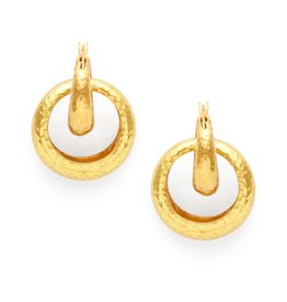 Julie Vos Catalina 2 in 1 Earring Gold