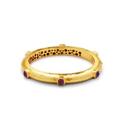 Julie Vos Catalina Hing Bangle Gold