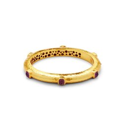 Julie Vos Catalina Hinge Bangle Gold