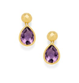 Julie Vos Catalina Midi Gold Earring