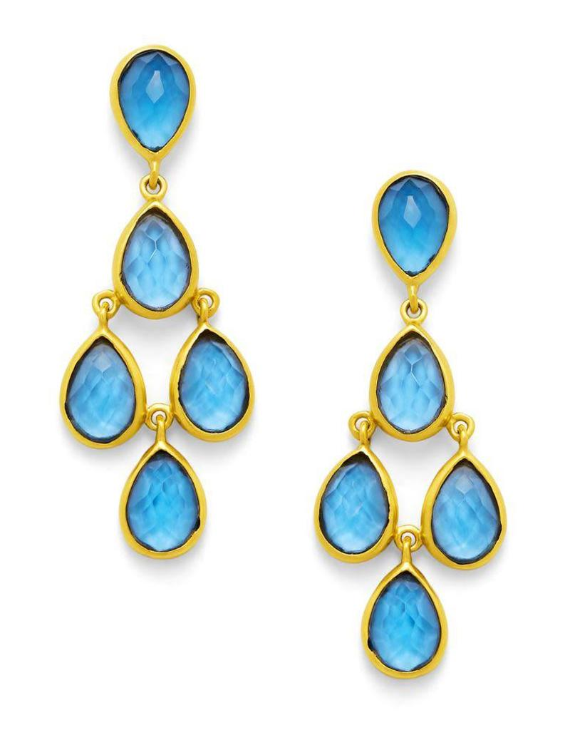 Julie Vos Clara Gold Earring