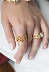 Julie Vos Florentine Stacking Ring
