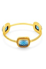 Julie Vos Luxor Bangle Gold