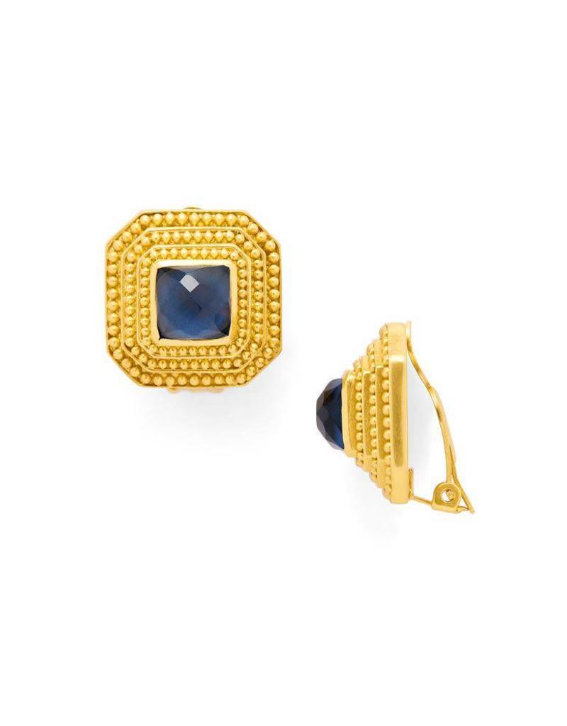 Julie Vos Luxor Clip-On Gold