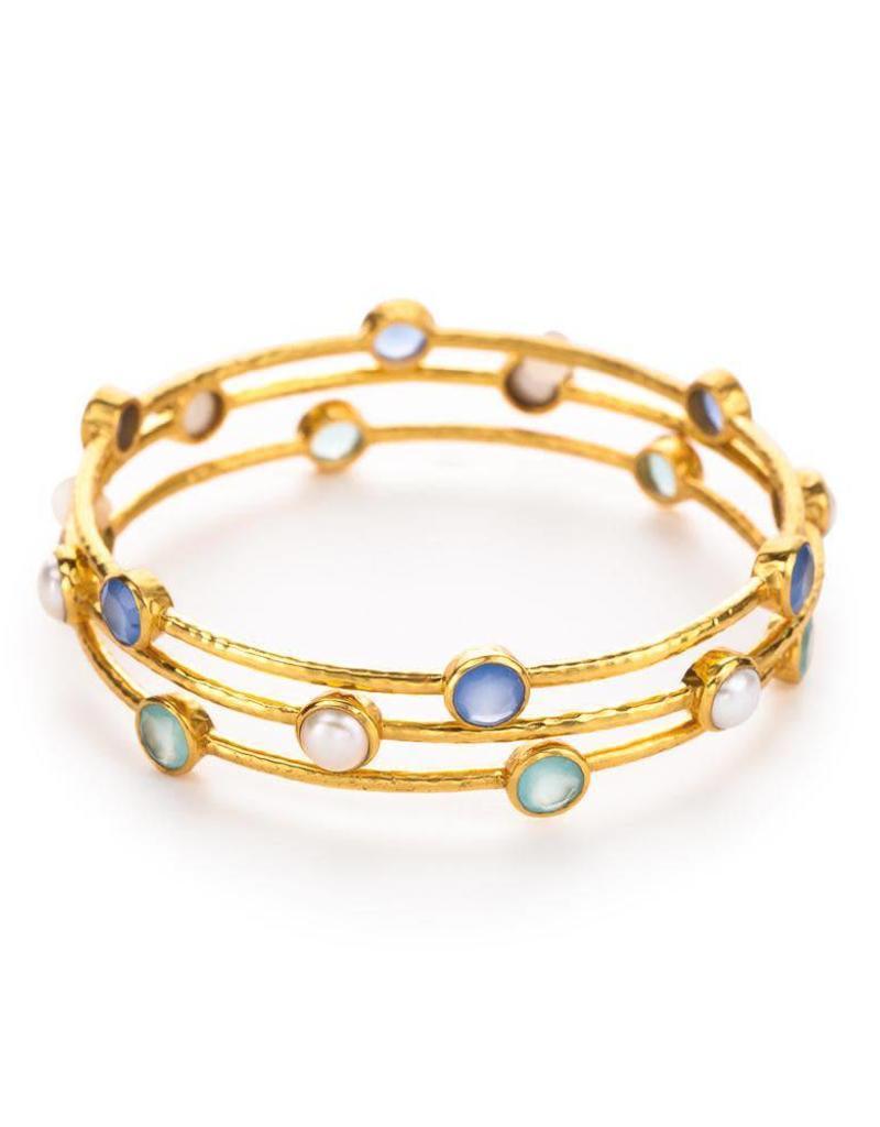 Julie Vos Milano Bangle Gold