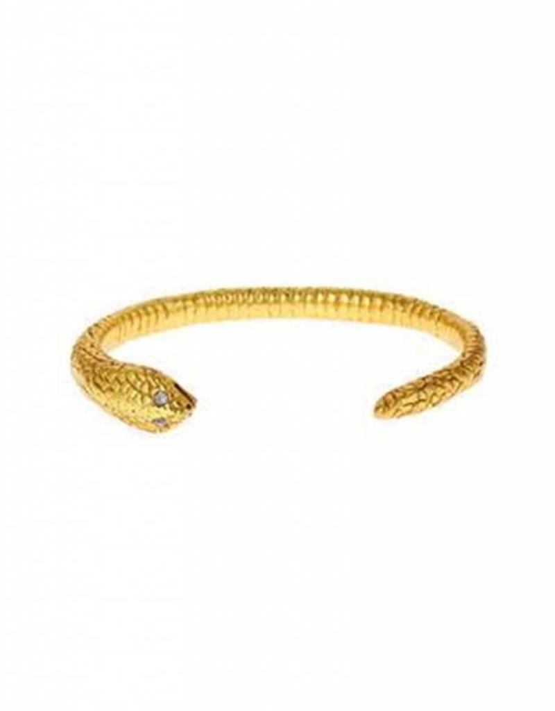 Julie Vos Serpent Hinge Cuff