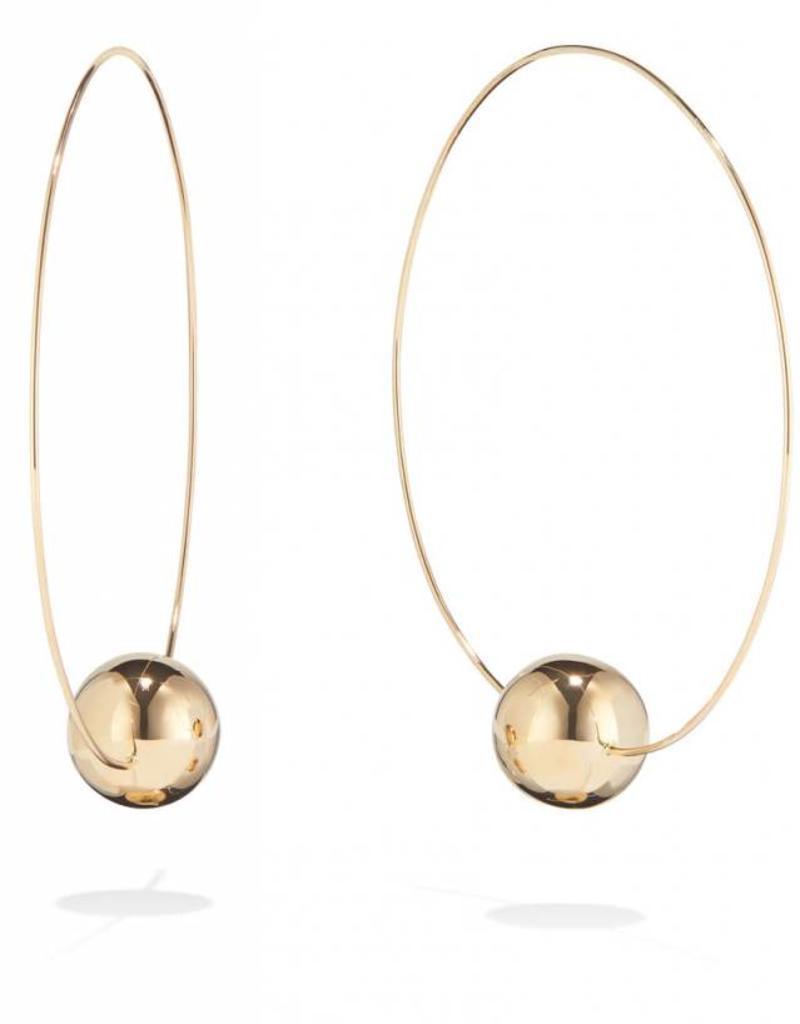 Lana 65MM Lumen Bead Wire Magic Hoops