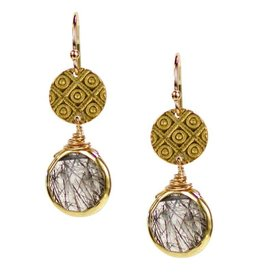 Fairfax Quartz Earrings