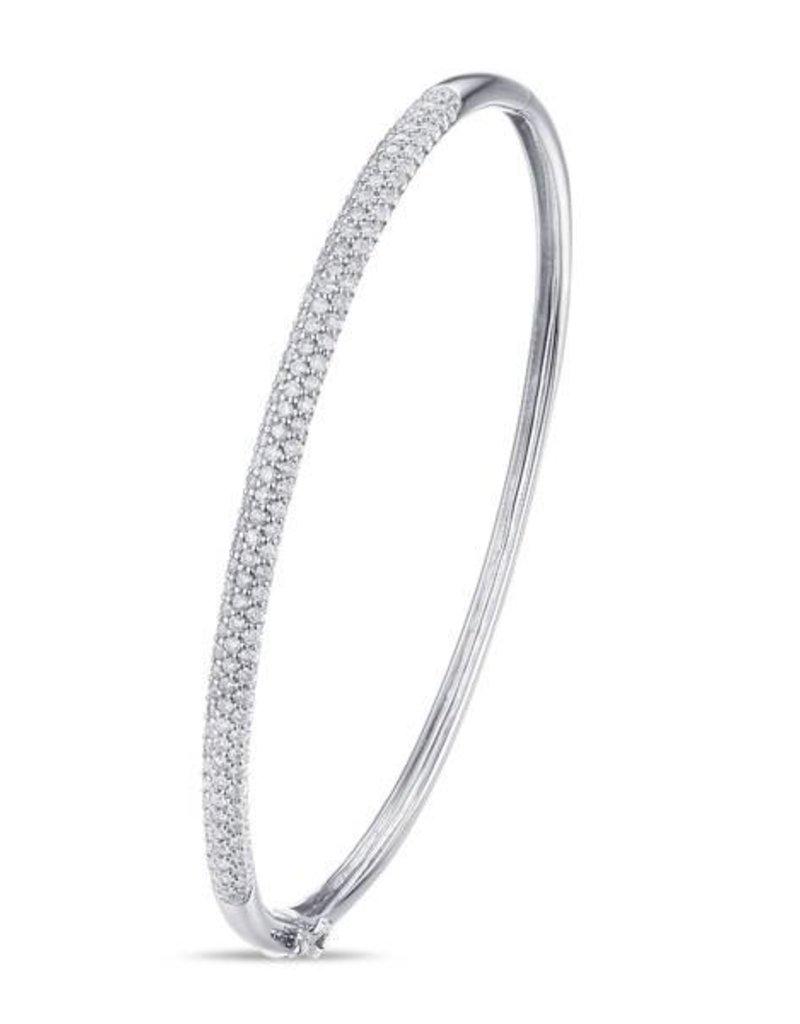 14KW, 0.99CT Dia Bangle Bracelet
