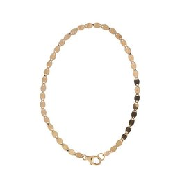 Lana Nude Chain Bracelet-Rose Gold