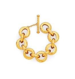 Julie Vos Savannah Demi Link Bracelet Gold