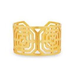 Julie Vos Geneva Cuff Gold