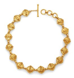 Julie Vos Bee Link Necklace Gold