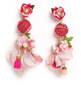 Ranjana Khan Plumeria Earrings