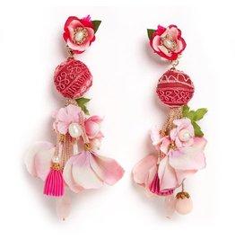 Ranjana Khan Plumeria Earrings