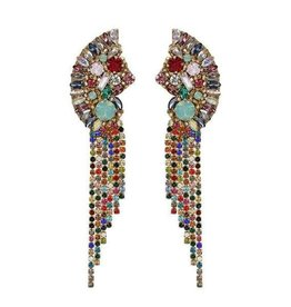 DEEPA GURNANI Verity Earrings-Multi