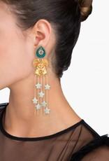 Mercedes Salazar Bat In Love Earrings
