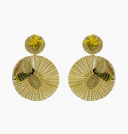 Mercedes Salazar Honey Sun Earring