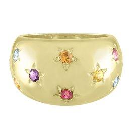 Eden Presley Rainbow Celeste Ring