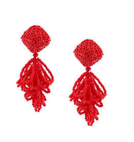 Sachin & Babi Mini LuLu Earring in Gojiberry