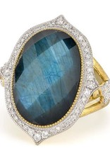 Jude Frances Large Moroccan Stone Ring
