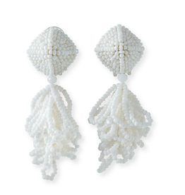 Sachin & Babi Mini LuLu Earrings in White