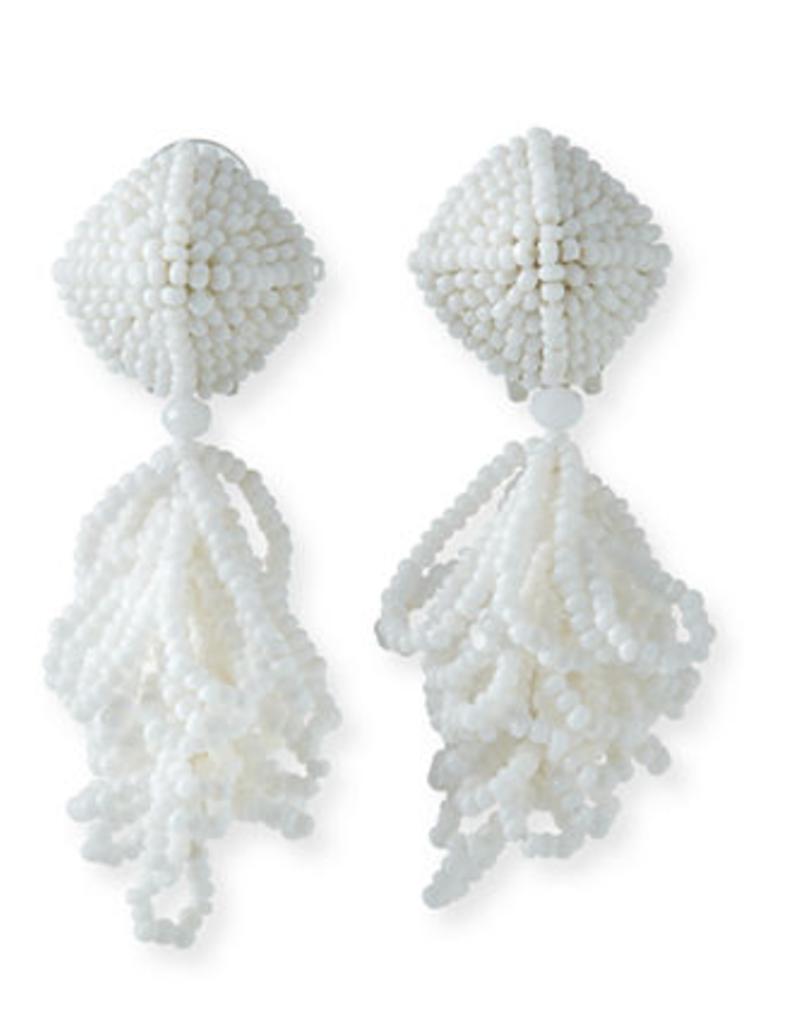 Sachin & Babi Mini LuLu Earrings in White