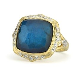 Jude Frances Moroccan Marrakesh Cushion Stone Ring