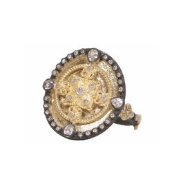 Old World Heraldy Shield Ring