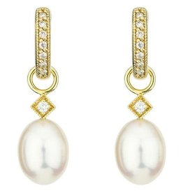 Jude Frances Pearl Briolette Earring Charms