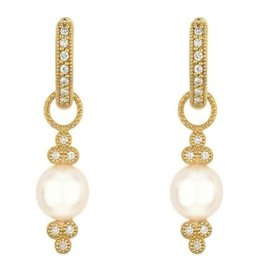 Jude Frances Small Provence Pearl Earring Charms