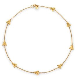 Julie Vos Bee Delicate Necklace Gold