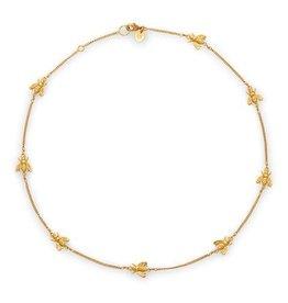 Julie Vos Bee Delicate Necklace Gold