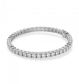 18k White Gold 9.26ct Diamond Tennis Bracelet