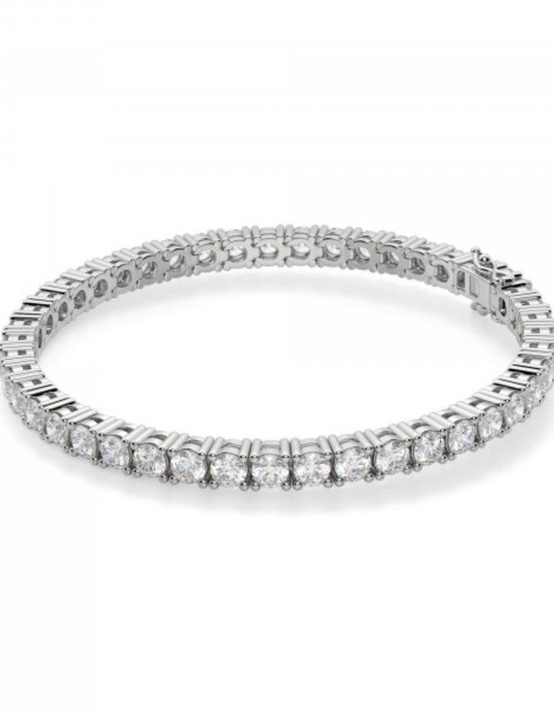 18k White Gold 9.26ct Diamond Tennis Bracelet