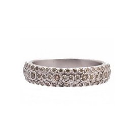 Armenta New World Champagne Diamond Eternity Band