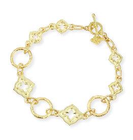 Armenta Sueno 18k Quatrefoil Link Bracelet