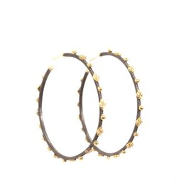 Armenta Old World Diamond Crivelli Hoop Earrings