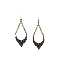 Armenta Old World Diamond Cluster Drop Earrings