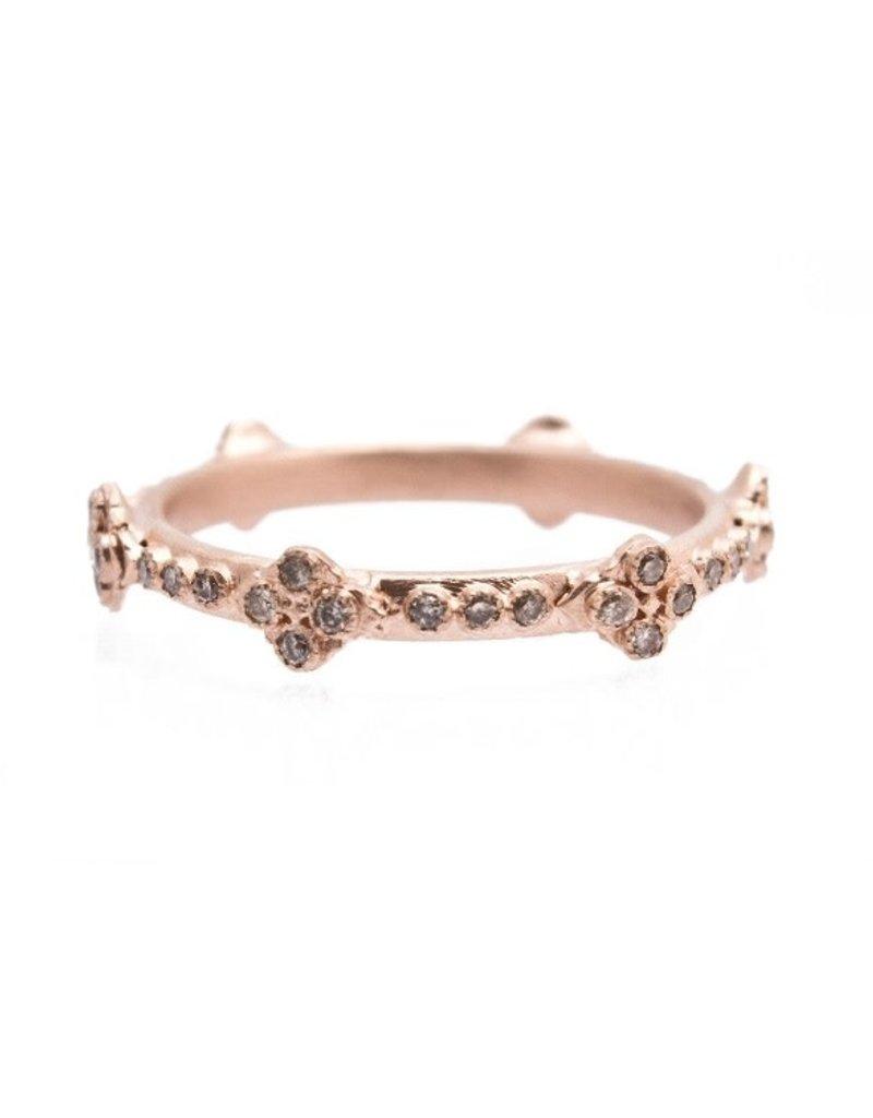 Armenta Sueno 18k Rose Gold Crivelli Stack Ring