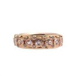 Armenta Sueno 18k Rose Gold White Sapphire Ring