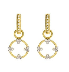 Jude Frances Provence Champagne Open Circle Trio Charms