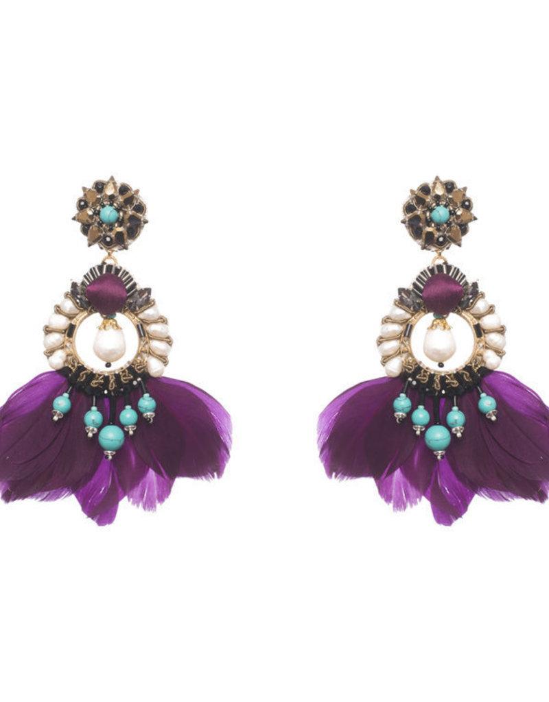 Ranjana Khan PF18-413E Meriti Earrings
