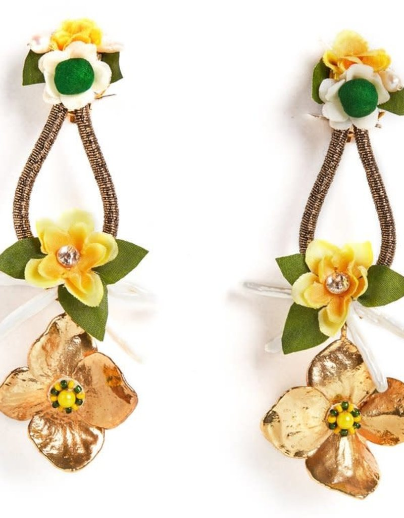 Ranjana Khan RT19-707E Glow Earrings
