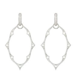 Jude Frances White Gold Moroccan Charm Frames