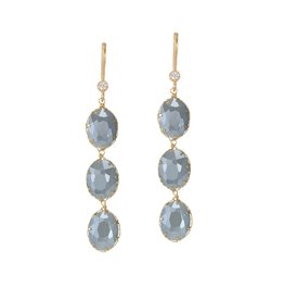 Theia 3 Tier Sky Drop Earring